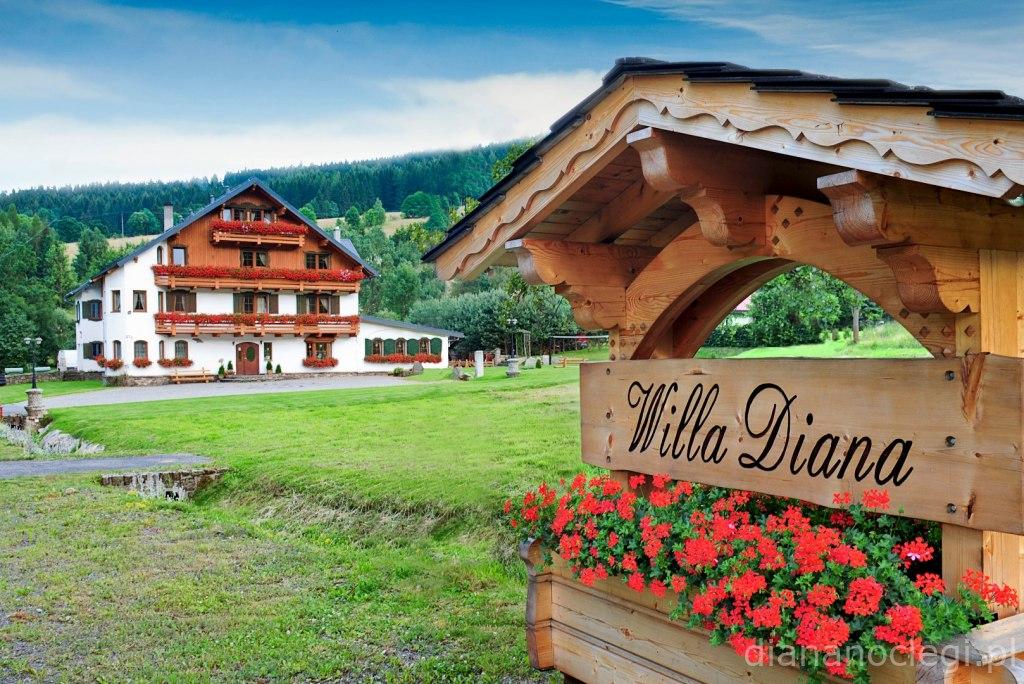 Willa Diana – Noclegi w górach
